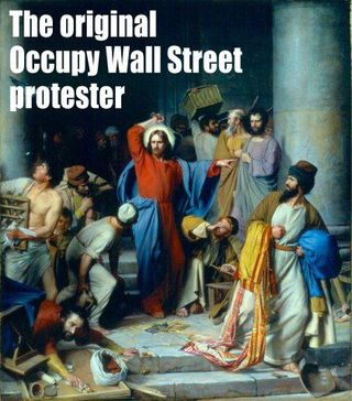 The Original Occupy Wall Street protester