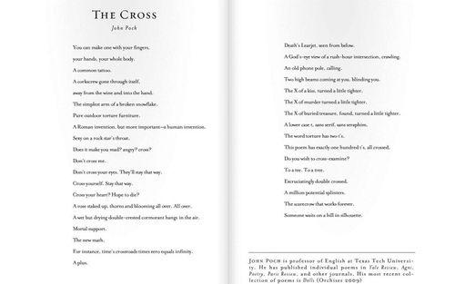 The Cross - A Poem by John Poch
