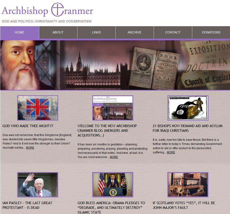 New Cranmer Blog