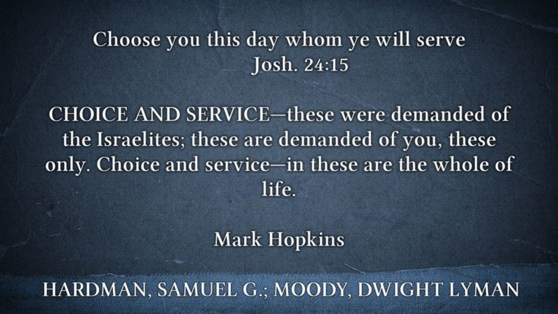 Choice and Service